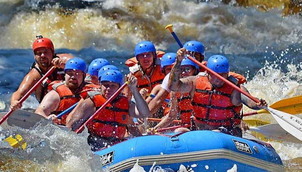 Dabble-Rafting