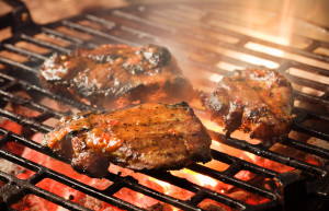 Be weary of adding sugary sauces or marinades while grilling!