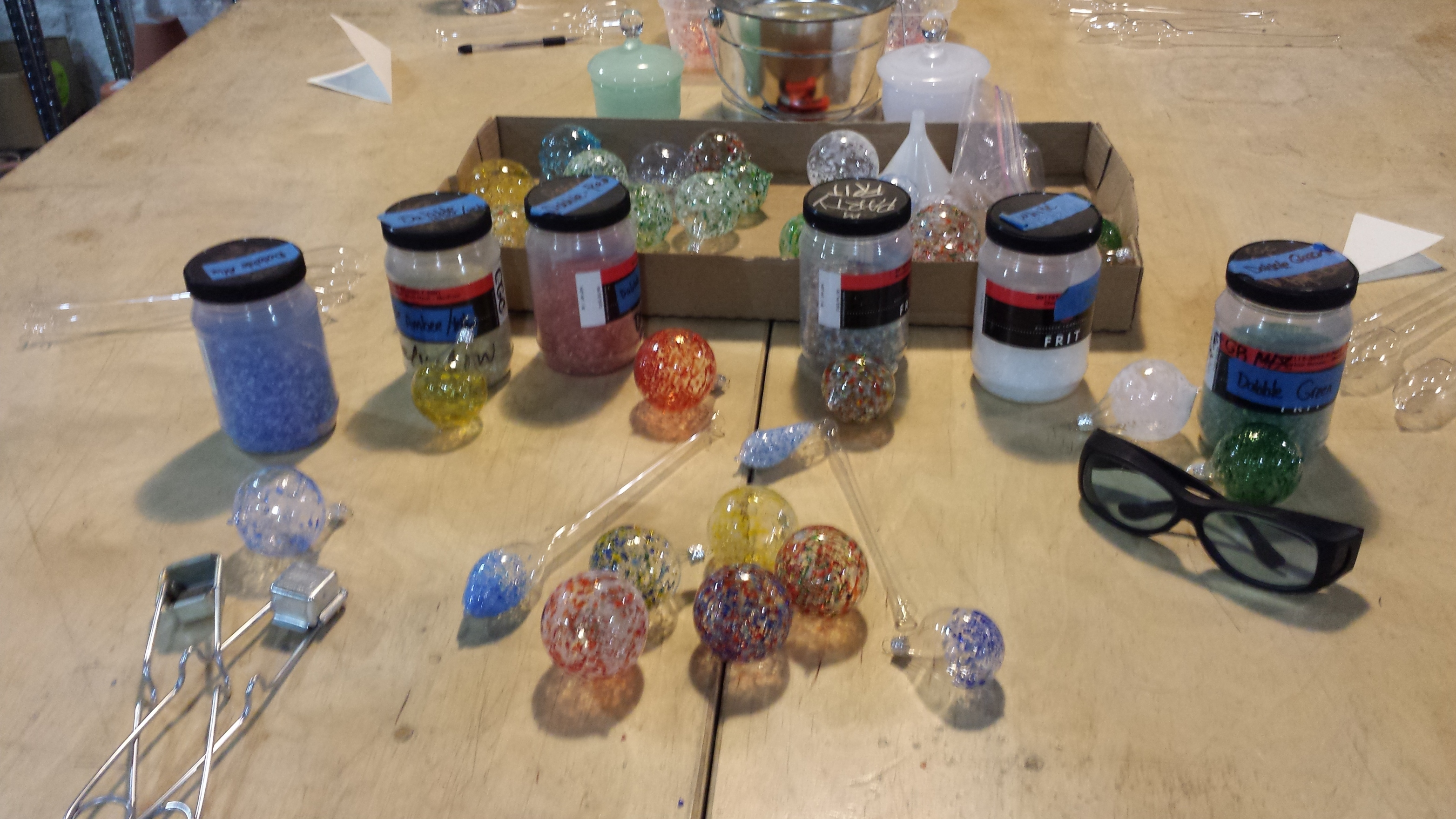 Dabble Drop-In: Blown Glass Ornaments – Make Your Own!
