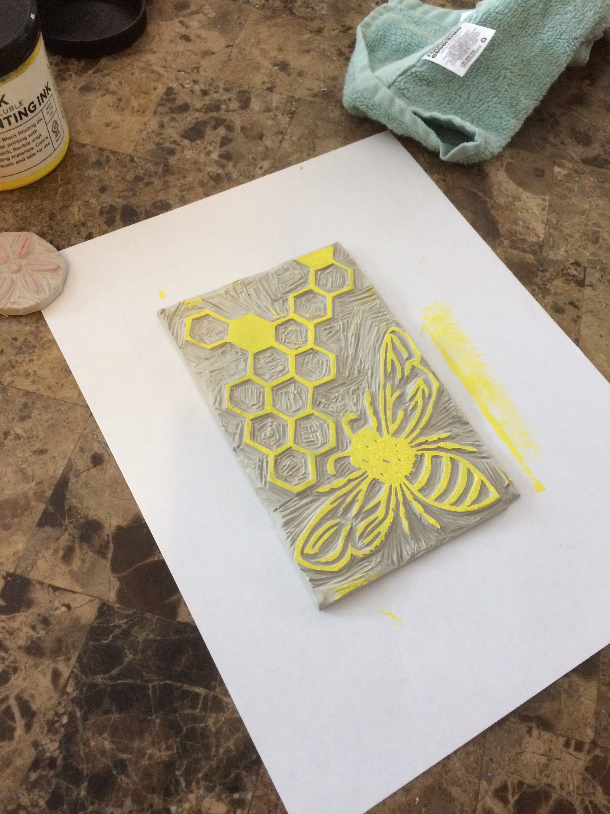 Dabble Drop-In: Card Printing, Linoleum Block Printmaking with Katie Netti