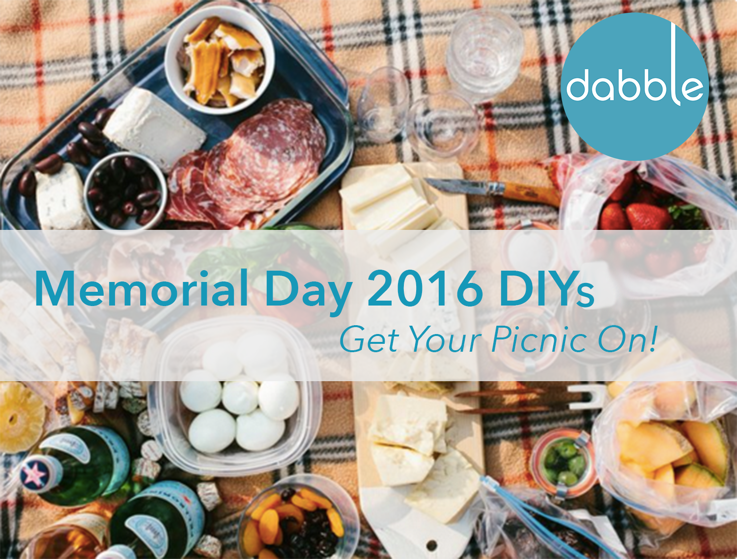 Best Picnic DIYs for Memorial Day 2016
