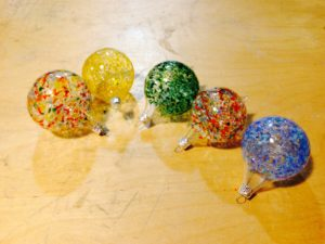 Glass blowing with Dabble