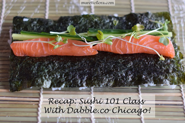 BYOB SUSHI 101 WITH DABBLE.CO