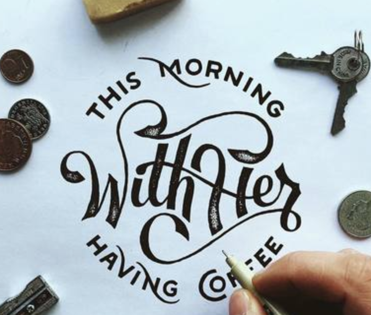10 QUESTIONS WITH Hand Lettering Maestro Adam Vicarel