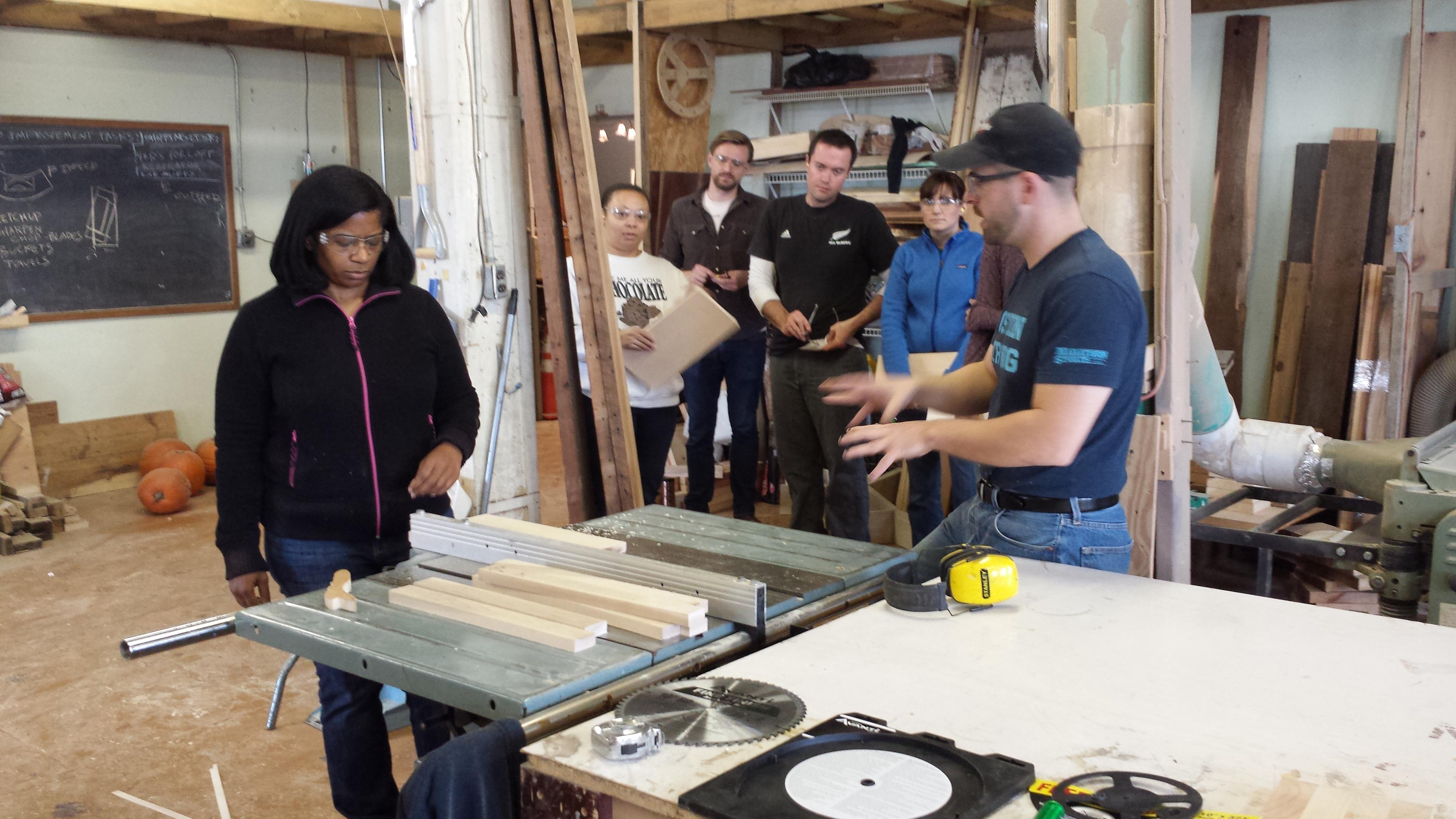 Dabble Woodworker Seeking a Workshop
