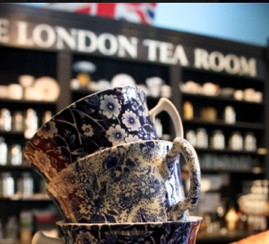 Dabble Talks: The London Tea Room