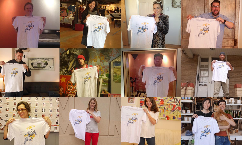 T-Shirts, Pandas, & Networking