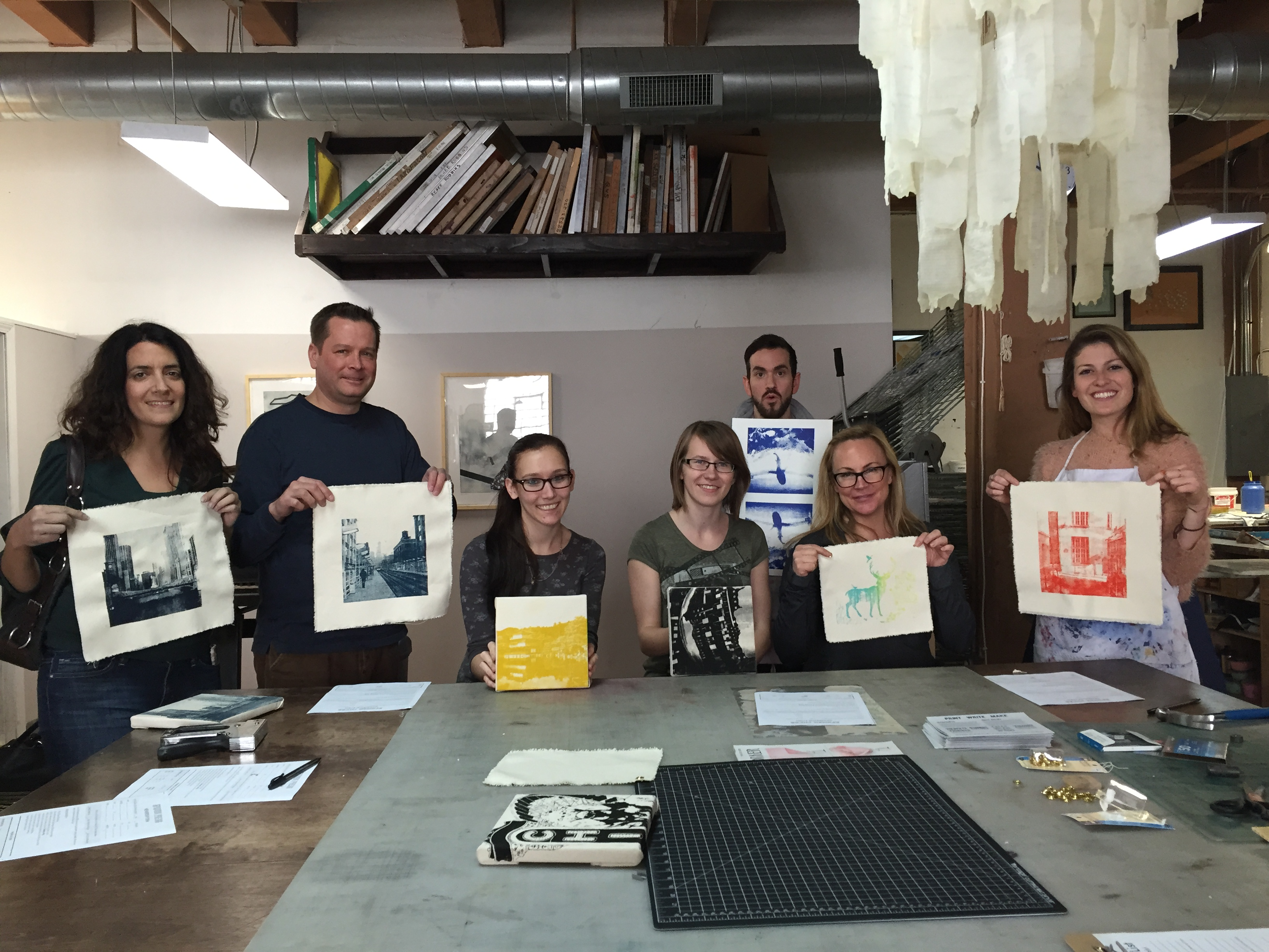 Dabble Drop-In: Screenprinting on Canvas: Make Your Own Wall Art