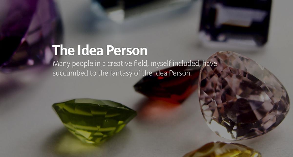 The Idea Person