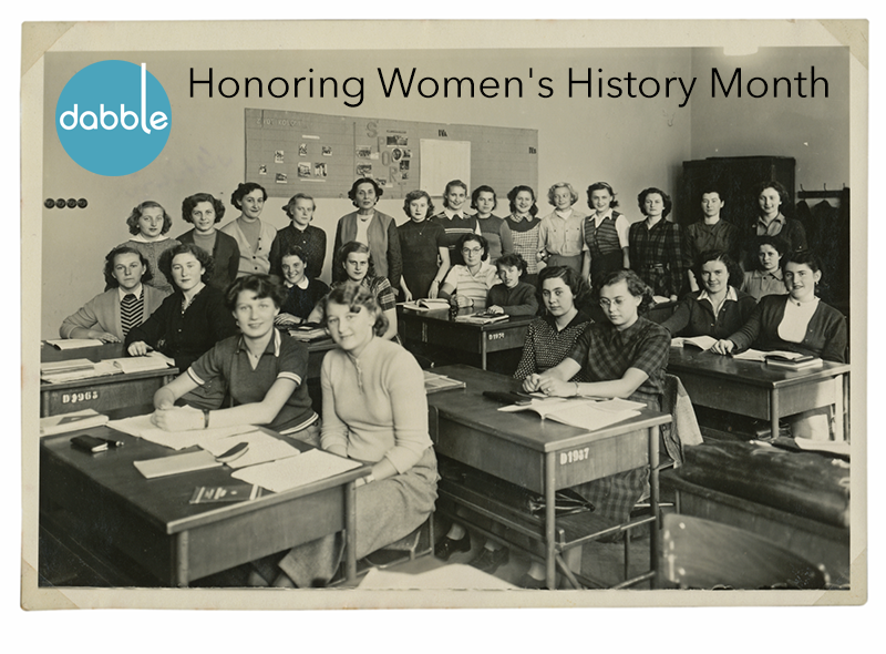Honoring Three Quotes for Women's History Month