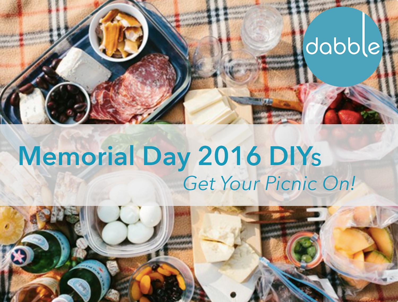 Best Picnic DIYs for Memorial Day 2016