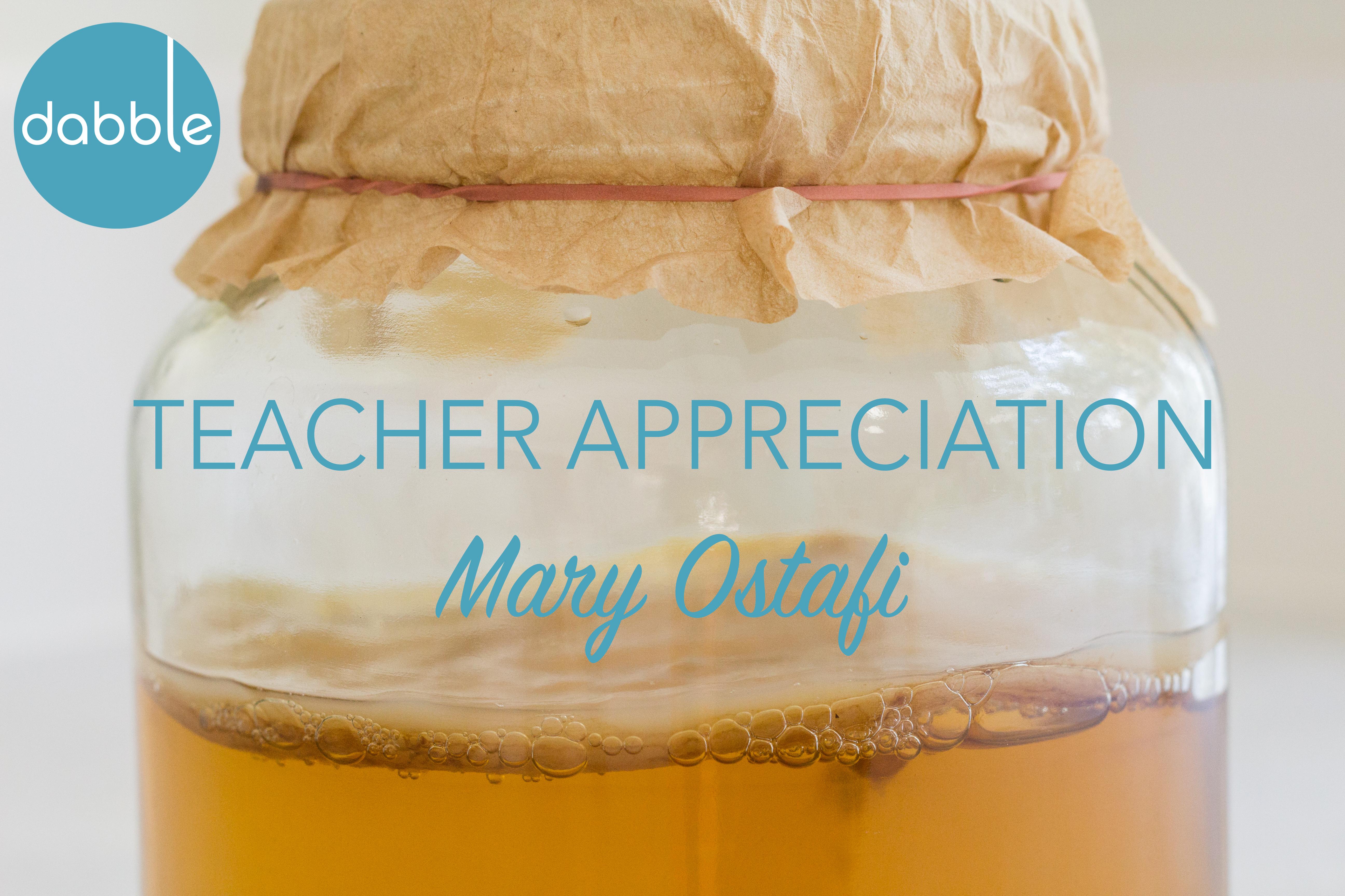 Teacher Spotlight: Mary Ostafi