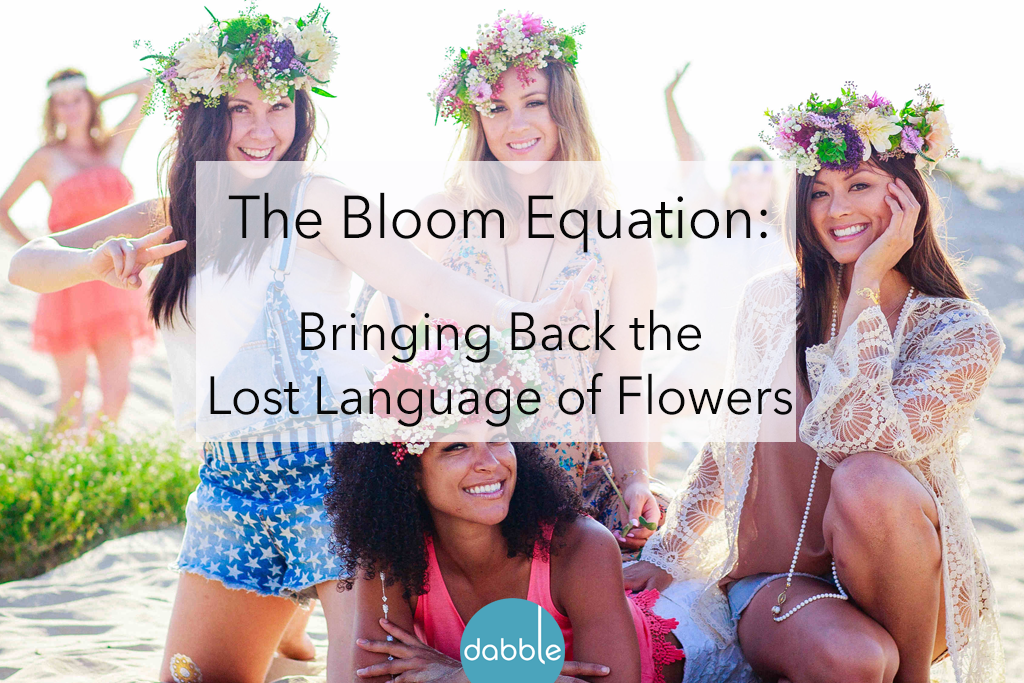 The Bloom Equation: Flowers That Really Mean Something