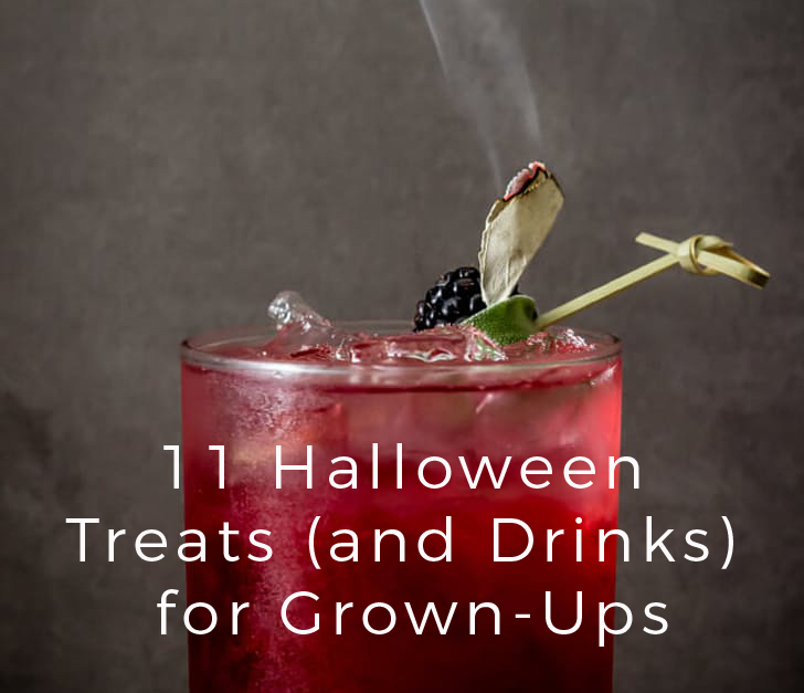 11 Halloween Treats (and Drinks) for Grown-Ups!