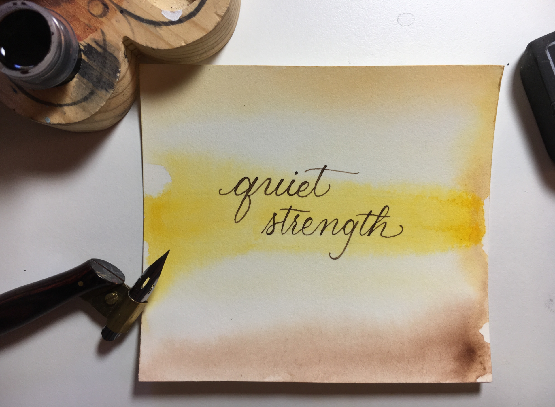 10 Questions with Left-handed Calligraphy Artist Shannon DeBord